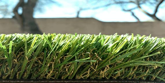 close up view of grande artificial grass tucson az